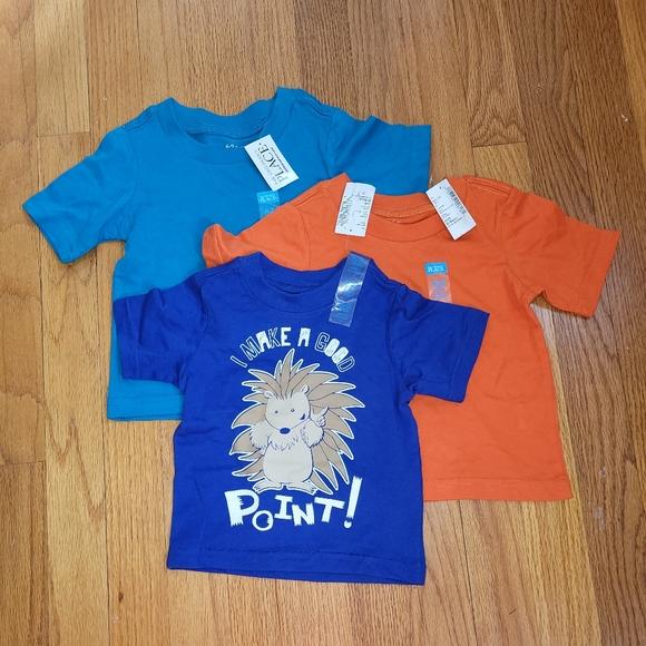 Set of 3 NWT Boys T-shirts 6-9 months